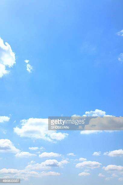 sky with clouds, japan - mishima city stock photos and pictures