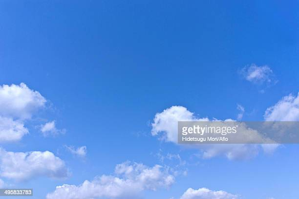 Sky with clouds, Japan