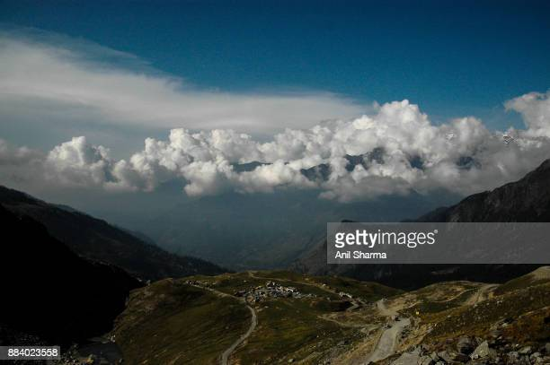 Sky with Clouds over Rohtang La