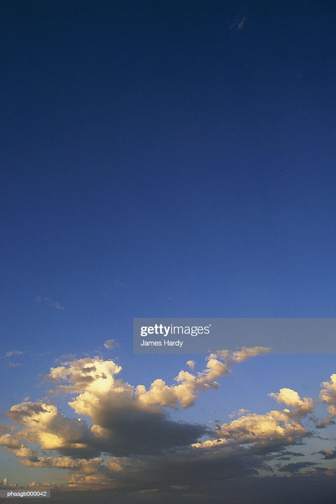 Sky with clouds : Stock Photo