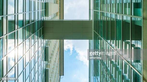 Skybridge Connected Between Two Buildings