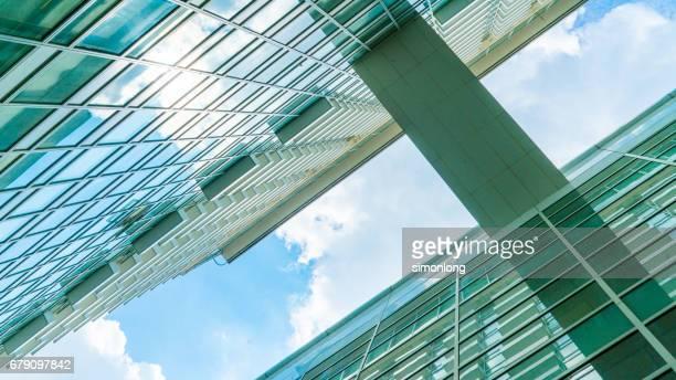 Skybridge Connected Between Two Buildings