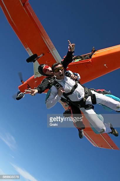 Skydive tandem hilarious