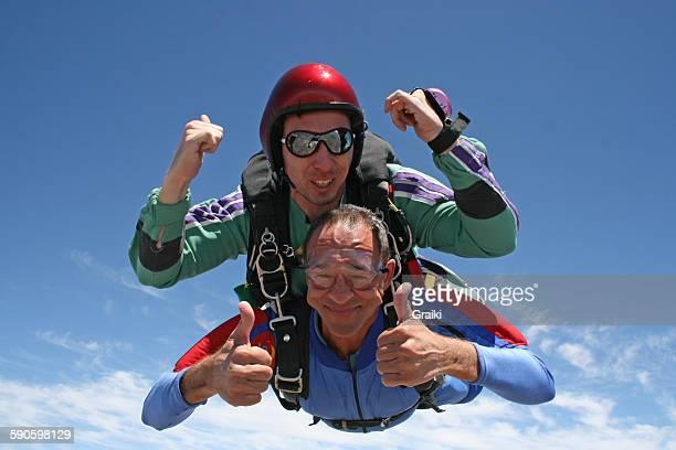 Skydive tandem senior man