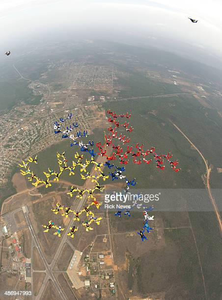 Skydiving Formation
