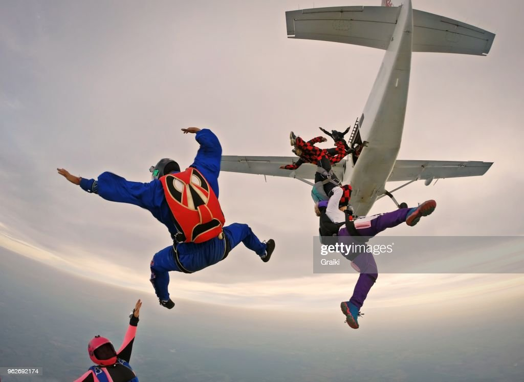 Skydiving funny