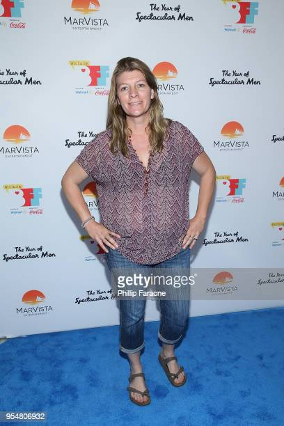 Skye Borgman attends The Year of Spectacular Men premiere at the 4th Annual Bentonville Film Festival Day 4 on May 4 2018 in Bentonville Arkansas