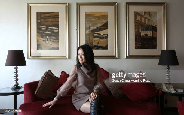 Skye Chan Sinyeung former tv hostess of TVB and now has become a famous MC in town 09JAN17 SCMP/Jonathan Wong