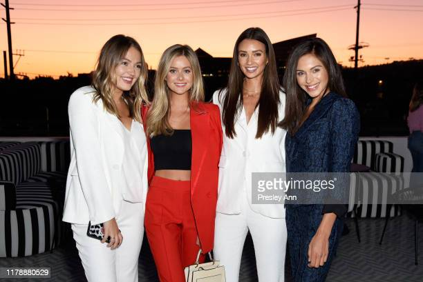 Skye Chandler Hannah Godwin Whitney Fransway and Alyssa Lynch attend the Box of Style By Rachel Zoe Female Founders Dinner at The AllBright West...