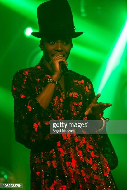 Skye Edwards from Morcheeba performs in concert at La Riviera on November 27 2018 in Madrid Spain
