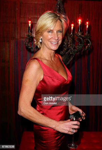 Skye Leckie attends the Chandon Supper Club after party at The Club in Kings Cross on May 21 2009 in Sydney Australia