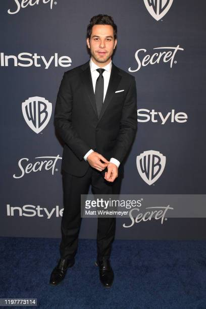 Skylar Astin attends The 2020 InStyle And Warner Bros 77th Annual Golden Globe Awards PostParty at The Beverly Hilton Hotel on January 05 2020 in...