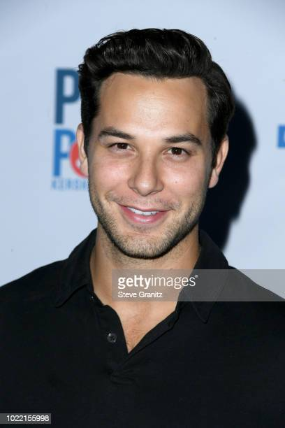 Skylar Astin attends the 6th annual PingPong4Purpose at Dodger Stadium on August 23 2018 in Los Angeles California