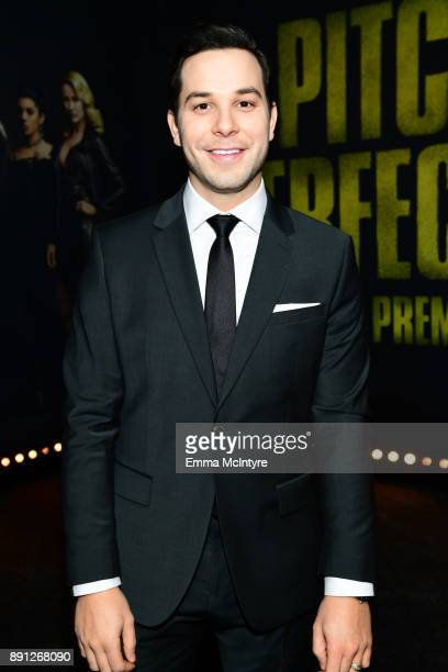 Skylar Astin attends the premiere of Universal Pictures' Pitch Perfect 3 at Dolby Theatre on December 12 2017 in Hollywood California