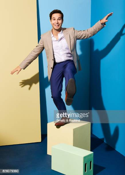 Skylar Astin of EPIX 'Graves' poses for a portrait during the 2017 Summer Television Critics Association Press Tour at The Beverly Hilton Hotel on...