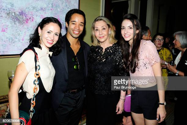 Skylar Brandt Gabe Stone Shayer Susan Gutfreund and April Giangeruso attend Youth America Grand Prix Jewels 50th Anniversary Celebration at Home of...