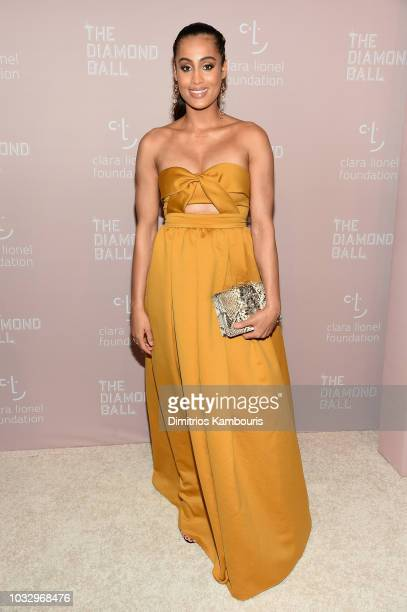 Skylar Diggins attends Rihanna's 4th Annual Diamond Ball benefitting The Clara Lionel Foundation at Cipriani Wall Street on September 13 2018 in New...