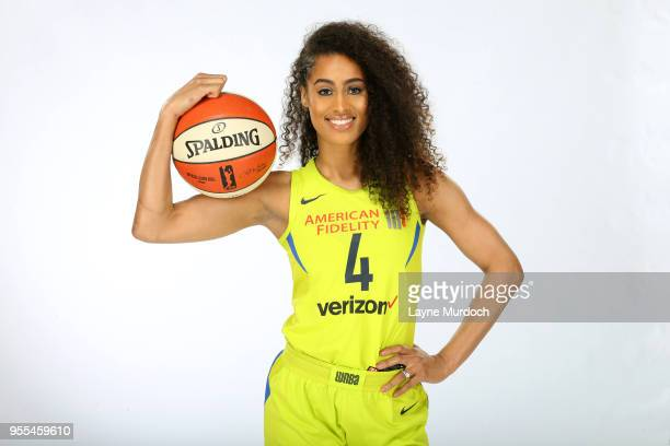 eccd42b5123e Skylar DigginsSmith of the Dallas Wings poses for a portrait on May 4 2018  at College