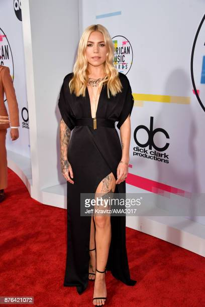 Skylar Grey attends the 2017 American Music Awards at Microsoft Theater on November 19 2017 in Los Angeles California