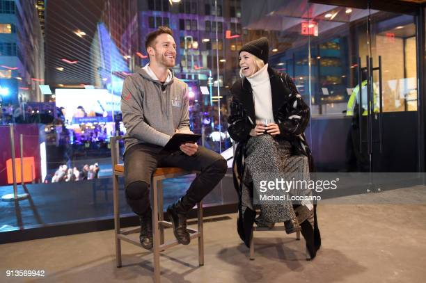 Skylar Grey attends the Verizon Up Member's Lounge at Super Bowl LIVE presented by Verizon on February 2 2018 in Minneapolis Minnesota