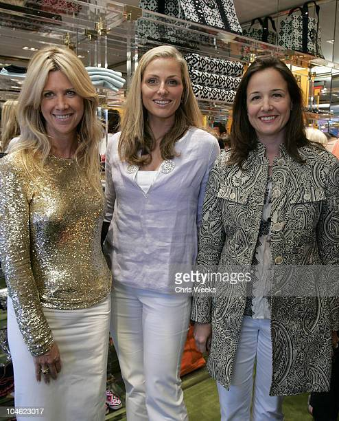 Skylar Samperton Jamie Tisch and Elizabeth Wiatt during Tory Burch Launches West Coast Store Tory by TRB at Tory by TRB in Los Angeles California...