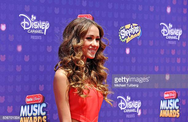 Skylar Stecker arrives at the 2016 Radio Disney Music Awards at Microsoft Theater on April 30 2016 in Los Angeles California