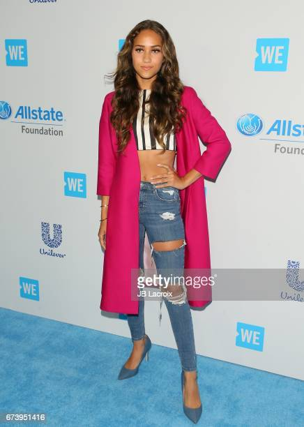 Skylar Stecker attends the We Day California 2017 on April 27 2017 in Inglewood California