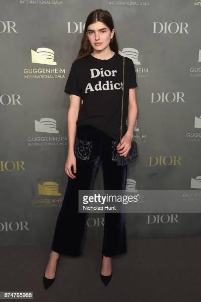 Skylar Tartz attends the 2017 Guggenheim International Gala PreParty made possible by Dior on November 15 2017 in New York City