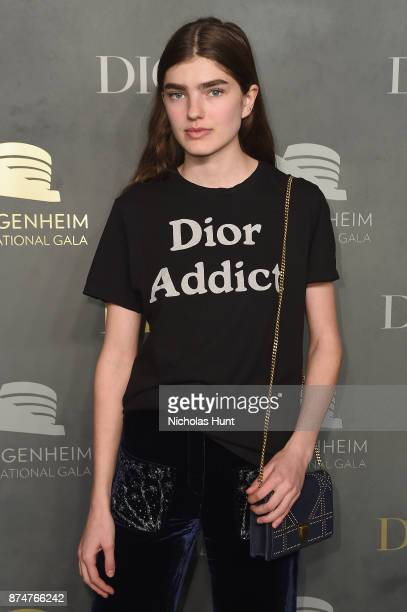 Skylar Tartz attends the 2017 Guggenheim International Gala PreParty made possible by Dior on November 15 2017 in New York City