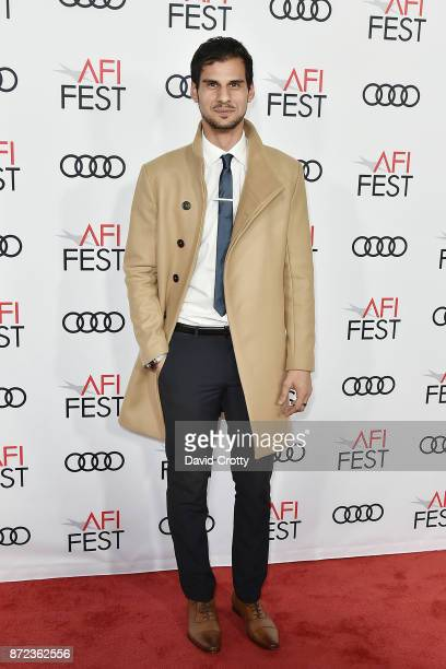 Skyler Bible attends the AFI FEST 2017 Presented By Audi Opening Night Gala Screening Of Netflix's 'Mudbound' Arrivals at TCL Chinese Theatre on...