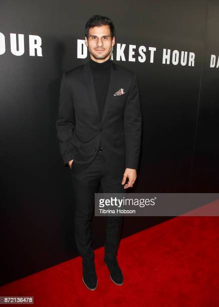 Skyler Bible attends the premiere of Focus Features 'Darkest Hour' at Samuel Goldwyn Theater on November 8 2017 in Beverly Hills California