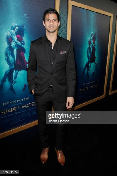 Skyler Bible attends the premiere of 'The Shape Of Water' at Academy Of Motion Picture Arts And Sciences on November 15 2017 in Los Angeles California