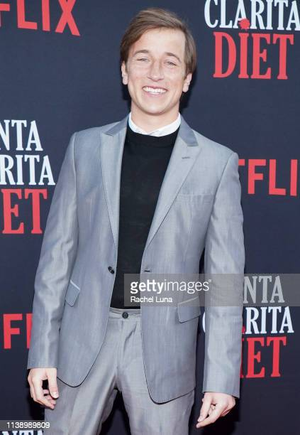 Skyler Gisondo attends Netflix's 'Santa Clarita Diet' Season 3 Premiere at Hollywood Post 43 on March 28 2019 in Los Angeles California