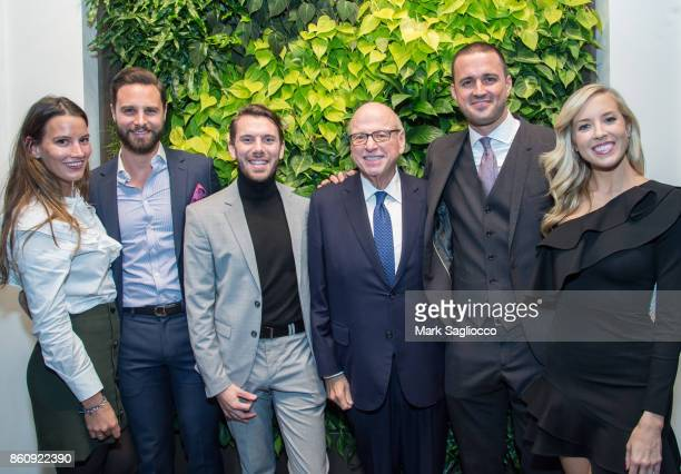 Skyler Rhoten Glenn Davis Alex Andrejko Howard Lorber Justin Tuinstra and Emily Comerford attend the Alfa Development Launch Celebration on October...