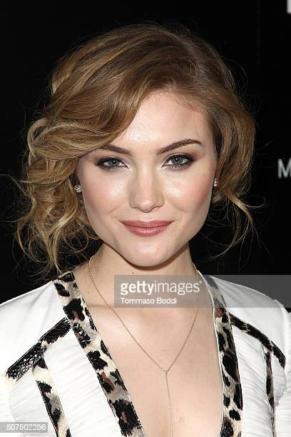Skyler Samuels attends the Entertainment Weekly's Celebration Honoring The 2016 SAG Awards Nominees held at Chateau Marmont on January 29 2016 in Los...