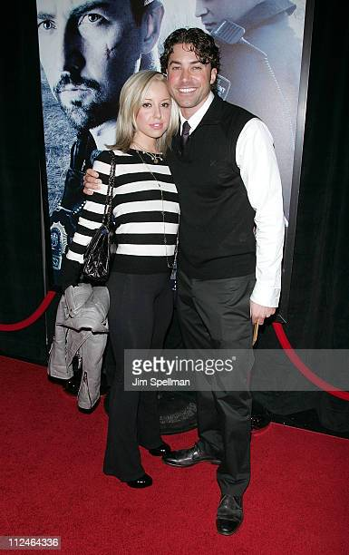 Skyler Shaye and Ace Young attend the Premiere for Pride and Glory at AMC Loews lincoln Square 13 on October 15 2008 in New York City