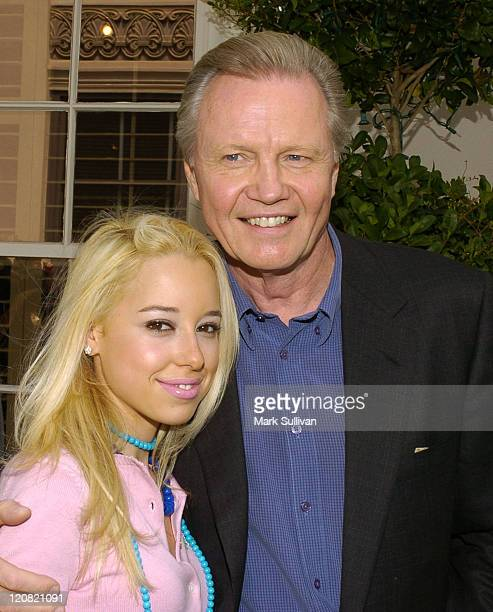 Skyler Shaye and Jon Voight during Superbabies Baby Geniuses 2 Diaper Derby and Screening at Sony Pictures Studios in Culver City California United...