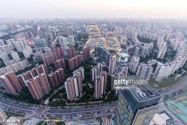 skyline at beijing,China