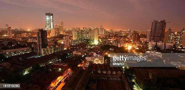 Skyline at Night-Mumbai