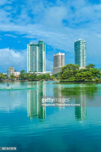 skyline at the beira lake - imagebook stock pictures, royalty-free photos & images