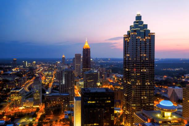 Skyline, Atlanta, Georgia, America