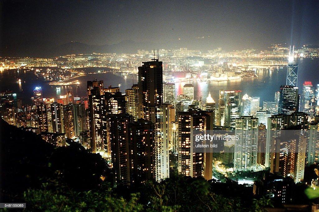 Hong Kong Skyline : News Photo
