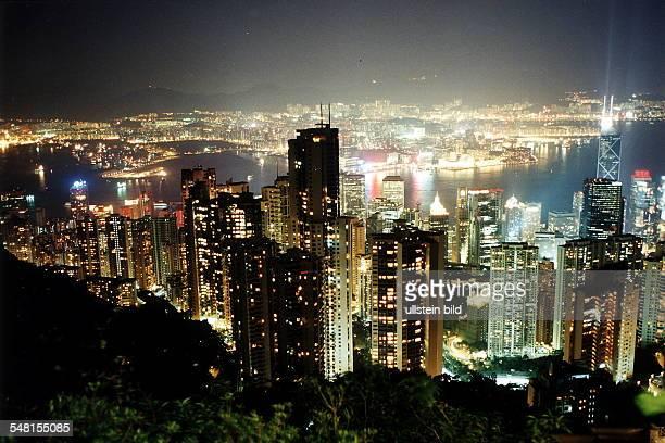 Skyline bei Nacht 1995