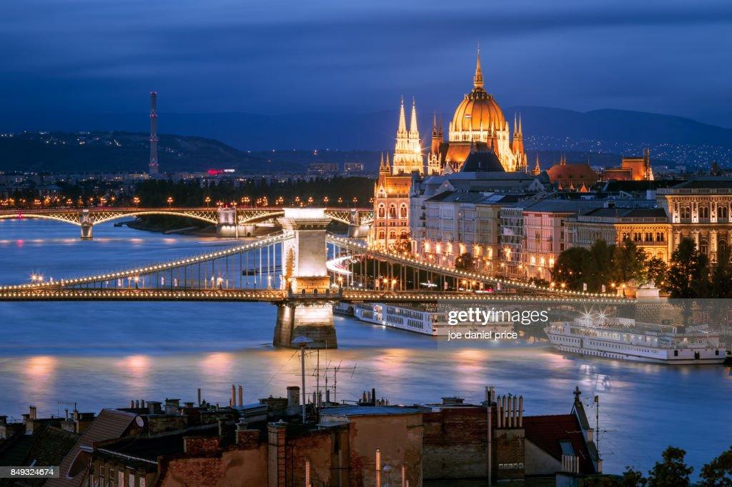 Skyline, Budapest, Hungary : ストックフォト