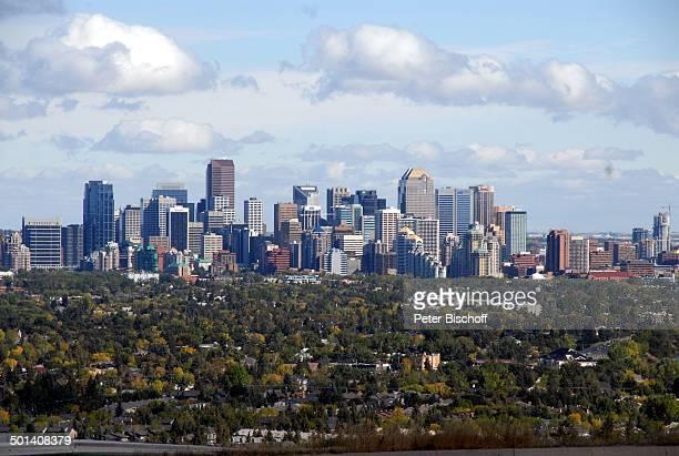 Skyline, Calgary, Alberta, Kanada, Nordamerika, Häuser, Gebäude, Reise, BB, DIG; P.-Nr. 1379/2007, ;