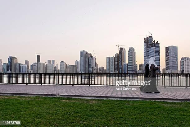 Skyline, Corniche,Sharjah, UAE