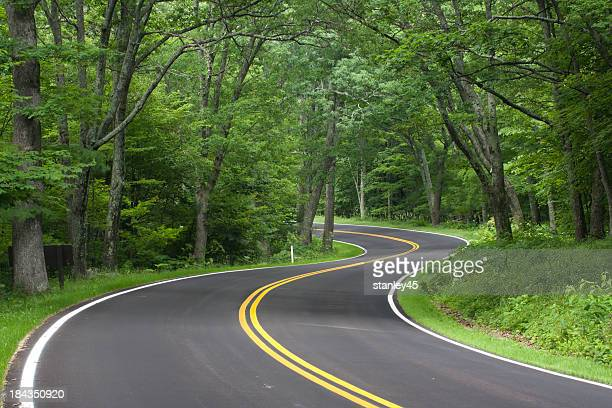 Skyline Drive, Shenandoah National Forest, en Virginie