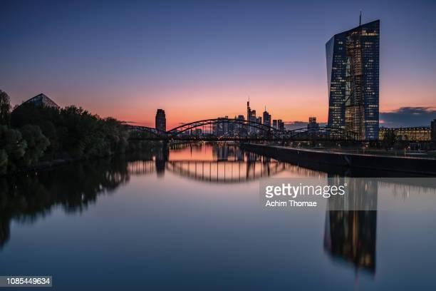 Skyline Frankfurt, Germany, Europe