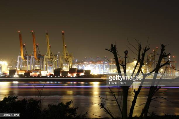 Skyline Hamburg Port