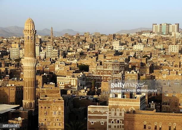 Skyline if Sana'a, Yemen